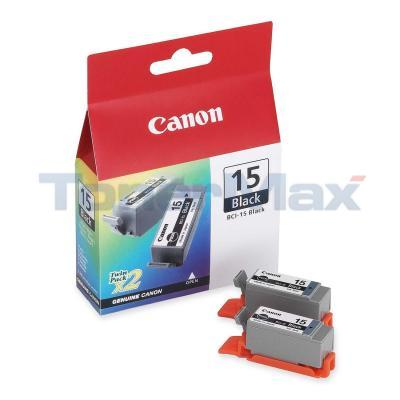 CANON BCI-15BK BLACK INKJET CARTRIDGE